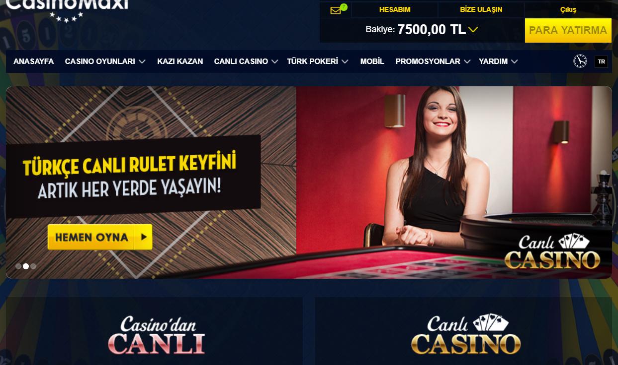 Casinomaxi Para Çekme